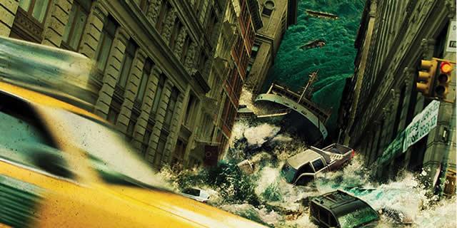 艺术家描绘的各种世界末日场景