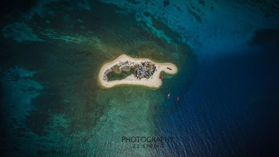 国产无人机航拍西沙群岛震撼美景
