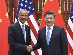 习近平会见美国总统奥巴马