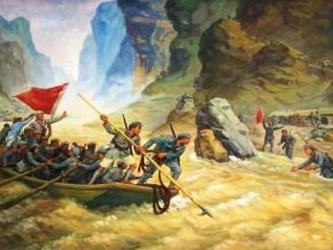 [历史与高山同在]万里长征大幕开启 寨前誓师先遣西征