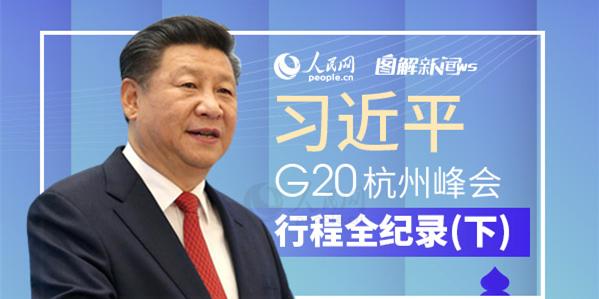 图解:习近平G20杭州峰会行程全纪录(下)