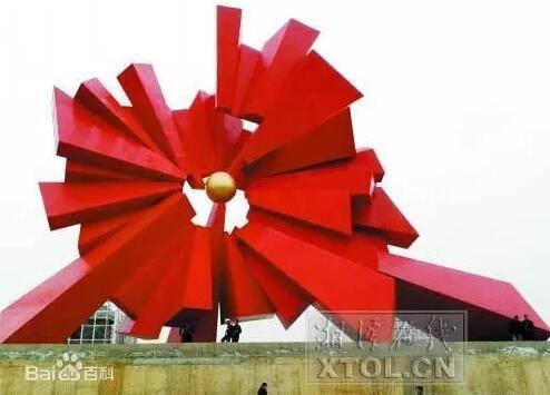 湘潭之光雕塑