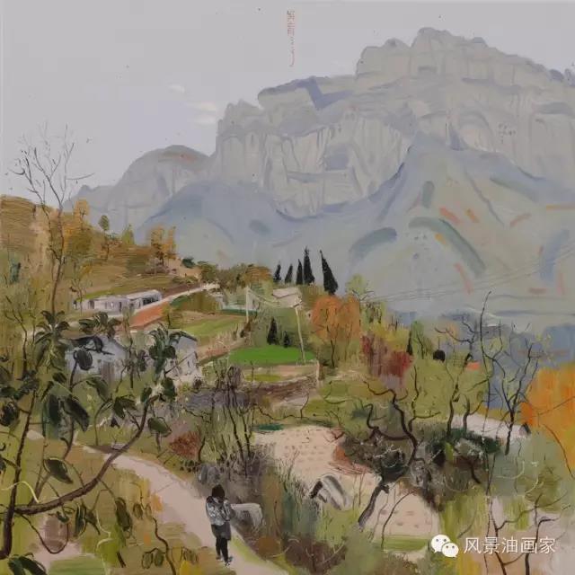 走近天边世界丨肖育:独行的风景画家
