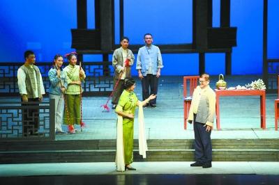 现代湘剧《田老大》晋京演出 讲述湘剧人的爱国故事