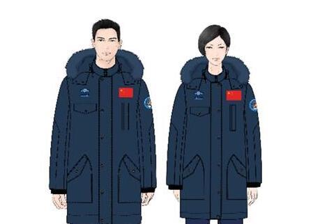 中国新款航天员服装首次亮相(组图)