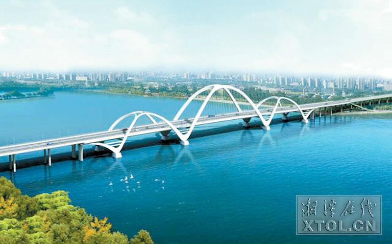 湘潭将新建下摄司大桥