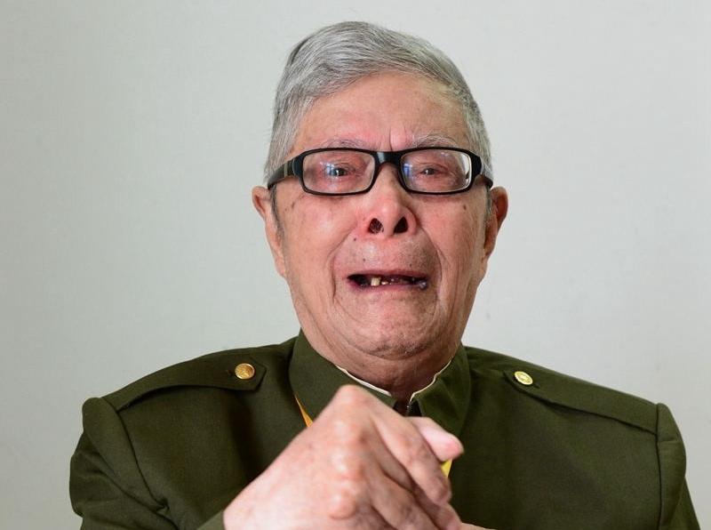 [活着的丰碑]老红军陈利财:目睹左权牺牲的过程