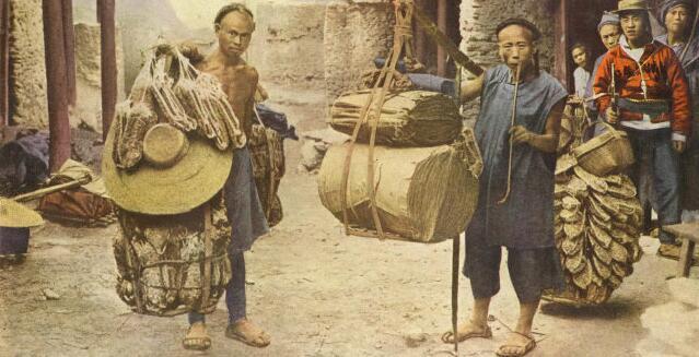 1920年代的彩色中国