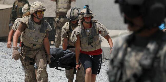 阿富汗战争旧照:死伤数万的美军
