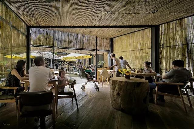 饭馆吧台装修效果图