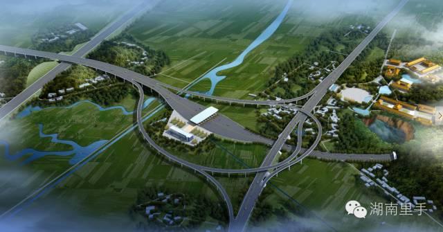 湖南又有3条高速公路开工了!