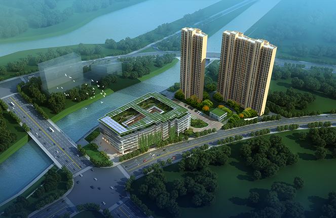 设计丨细数湖南绿色建筑中的翘楚技术盘点的图图片