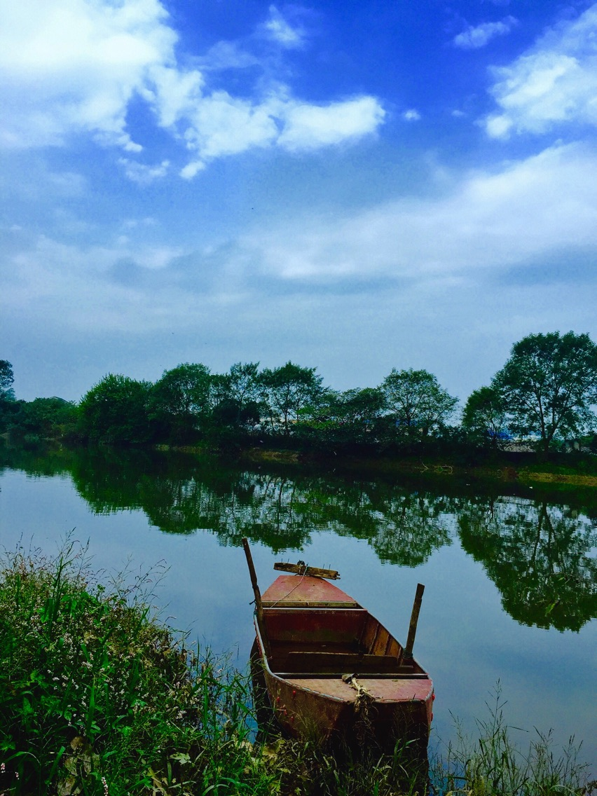 浏阳河上风景秀丽.杨子江 摄