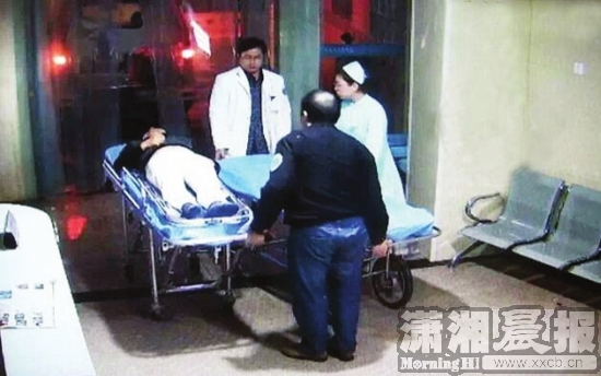 无法保持的通话 出诊医生找遍小区终于成功救人