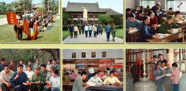 历史回顾 1970年代的北大学生