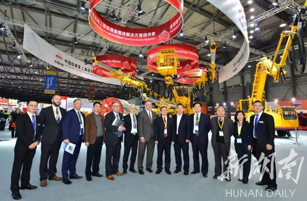 6台盾构机卖近2亿元 铁建重工上海宝马展上获大单