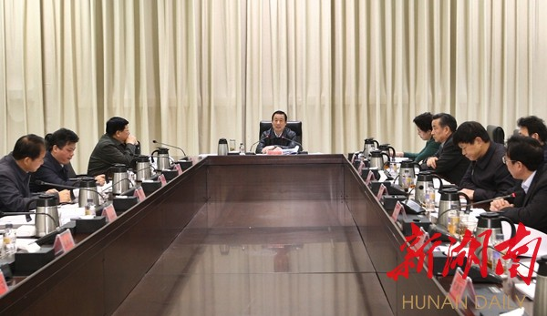 """许达哲:以""""啃硬骨头""""的干劲 坚决打赢脱贫攻坚战 新湖南www.hunanabc.com"""