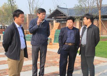 省新农村建设考核验收组来望城考核验收