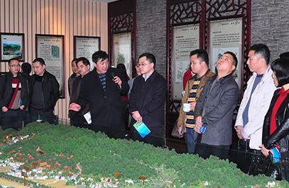 邵阳双清区考察望城新农村建设