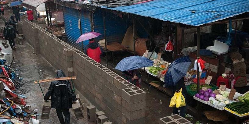 长沙楚湘街市场取缔,推进湘江大道快速化建设
