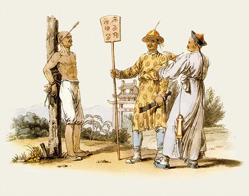 英国人笔下的清朝市民生活