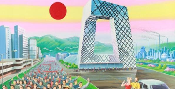 朝鲜画家笔下的2008年中国