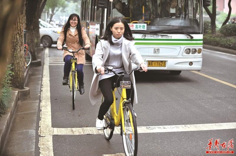 共享单车来了!长沙将投放5万辆 每小时最低只要5毛钱