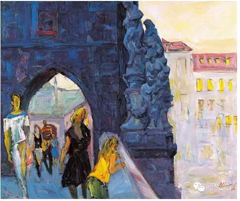罗尔纯的写生丨油画色彩大师,东方的梵高