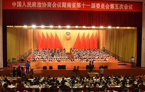 湖南省政协十一届五次会议大会发言选登:助推新发展 建设新湖南