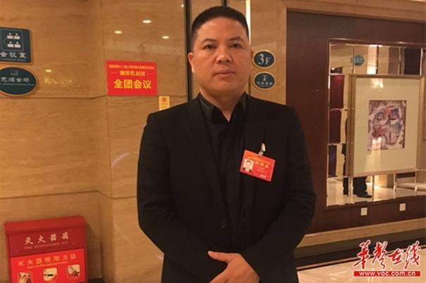 [湘商问道两会]代表王志祥:期待城铁真正走向城市公交模式