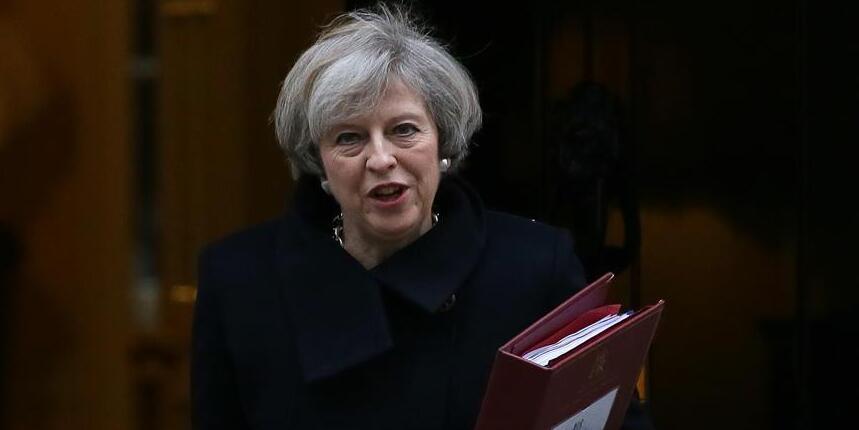 """英国议会下院投票正式通过""""脱欧""""法案"""