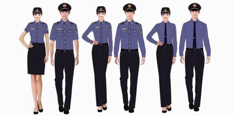城管统一制式服装亮相 女队员夏季着裙装