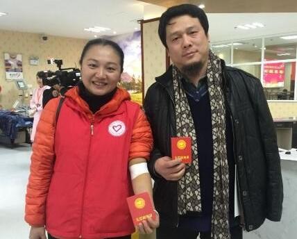 撸起袖子献热血 247名志愿者献血82000毫升