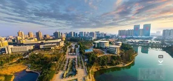 这组图展示了大美湘潭城市新貌