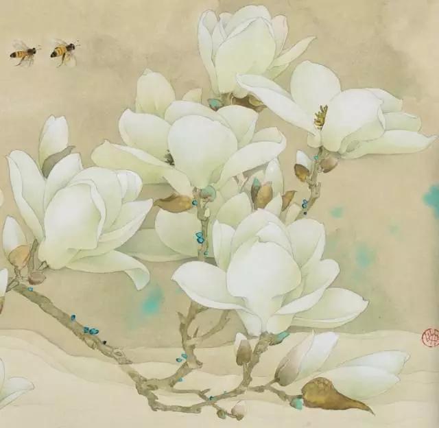 绘画蜜蜂步骤图解