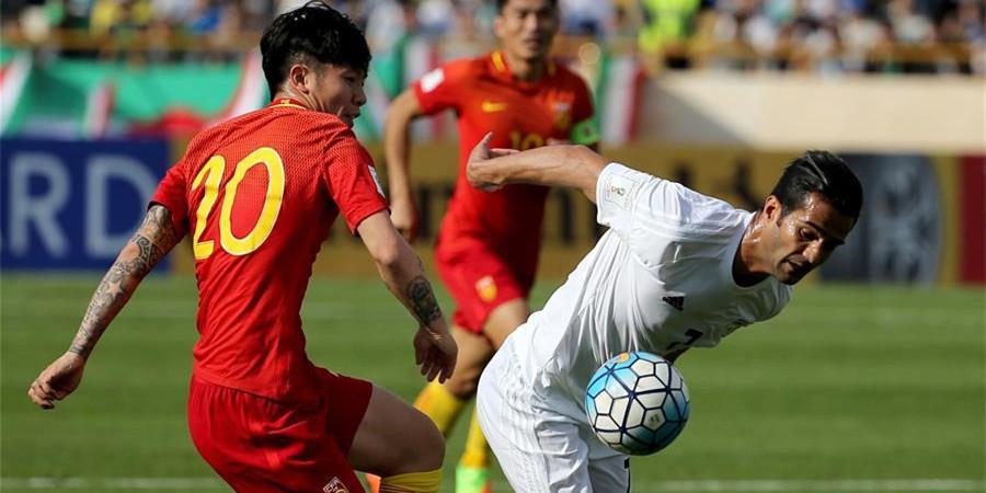 世预赛:中国客场0-1伊朗