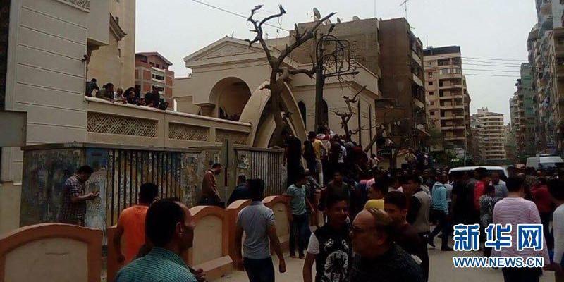 埃及两座教堂相继发生爆炸 近百人死伤