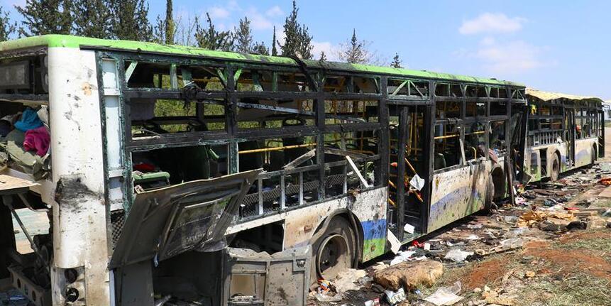 叙什叶派撤离人员遇袭事件死亡人数升至112人