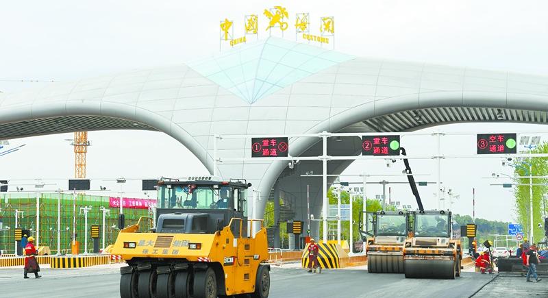 长沙黄花综保区八大必检项目基本完工