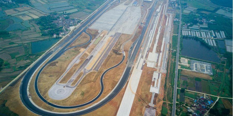 """南京:首座""""中国造""""试车场高速环道即将投运"""