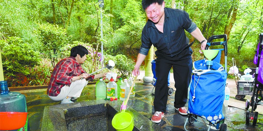 长沙南郊公园惠泉改造惠市民