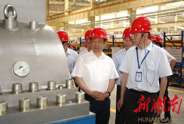 许达哲在湘潭调研并与湘大学子交流