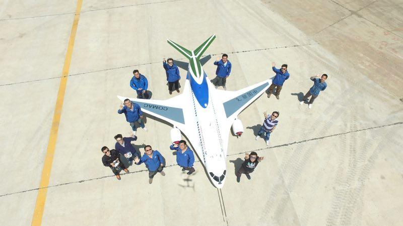 专访C919研发团队 看国产大飞机如何长成