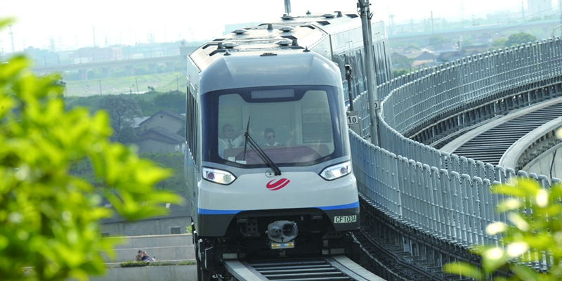 长沙磁浮快线试运营一周年发送旅客近260万