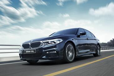 全新BMW 5系Li于2017湖南国际车展亮相