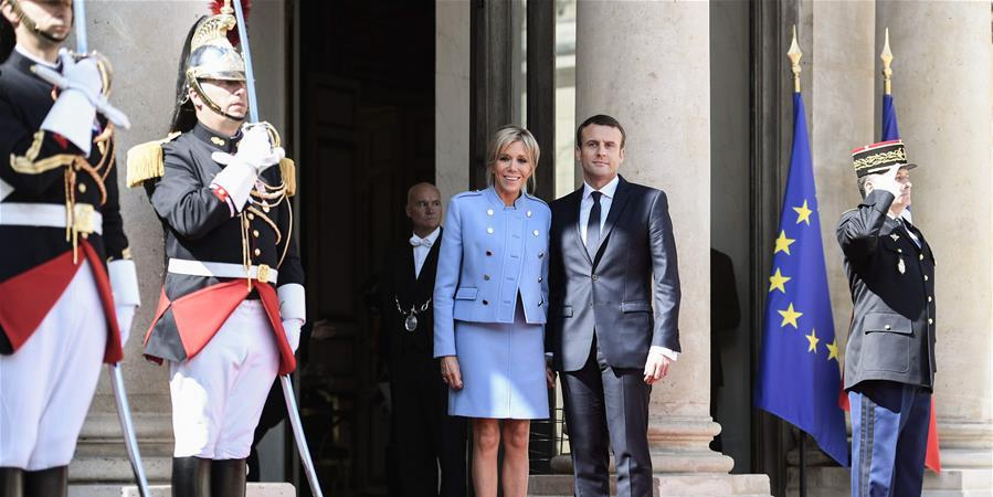 马克龙正式就任法国总统