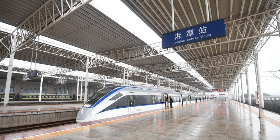 长株潭城铁正式通车 市民感受全新融城生活:舒适便捷