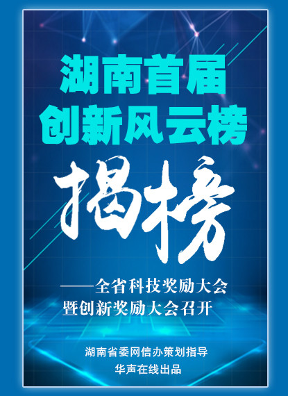 H5 | 湖南首届创新风云榜揭榜!