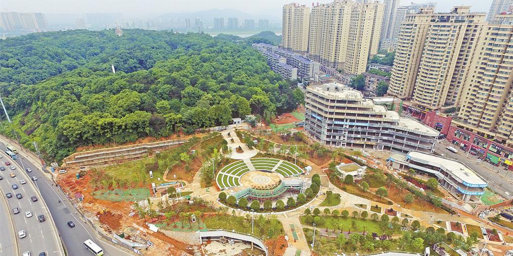 长沙南郊公园东广场下月正式对市民开放