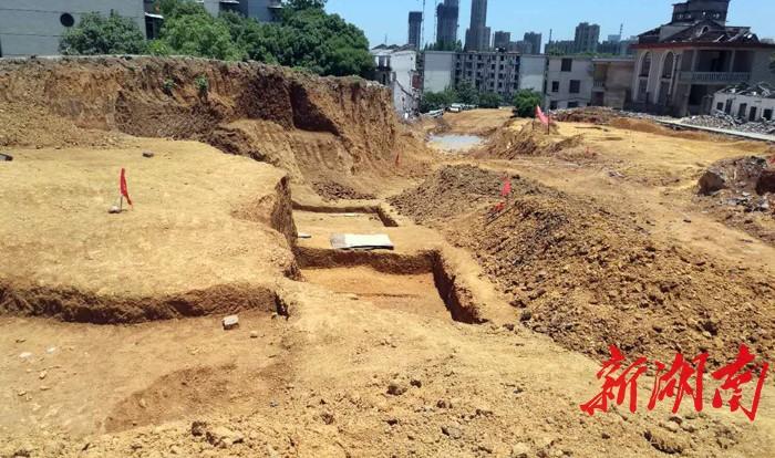 常德经开区又现古墓群,跨度从战国到西汉